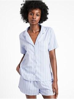 Bananarepublic Organic Luxe Poplin Pajama Short Set
