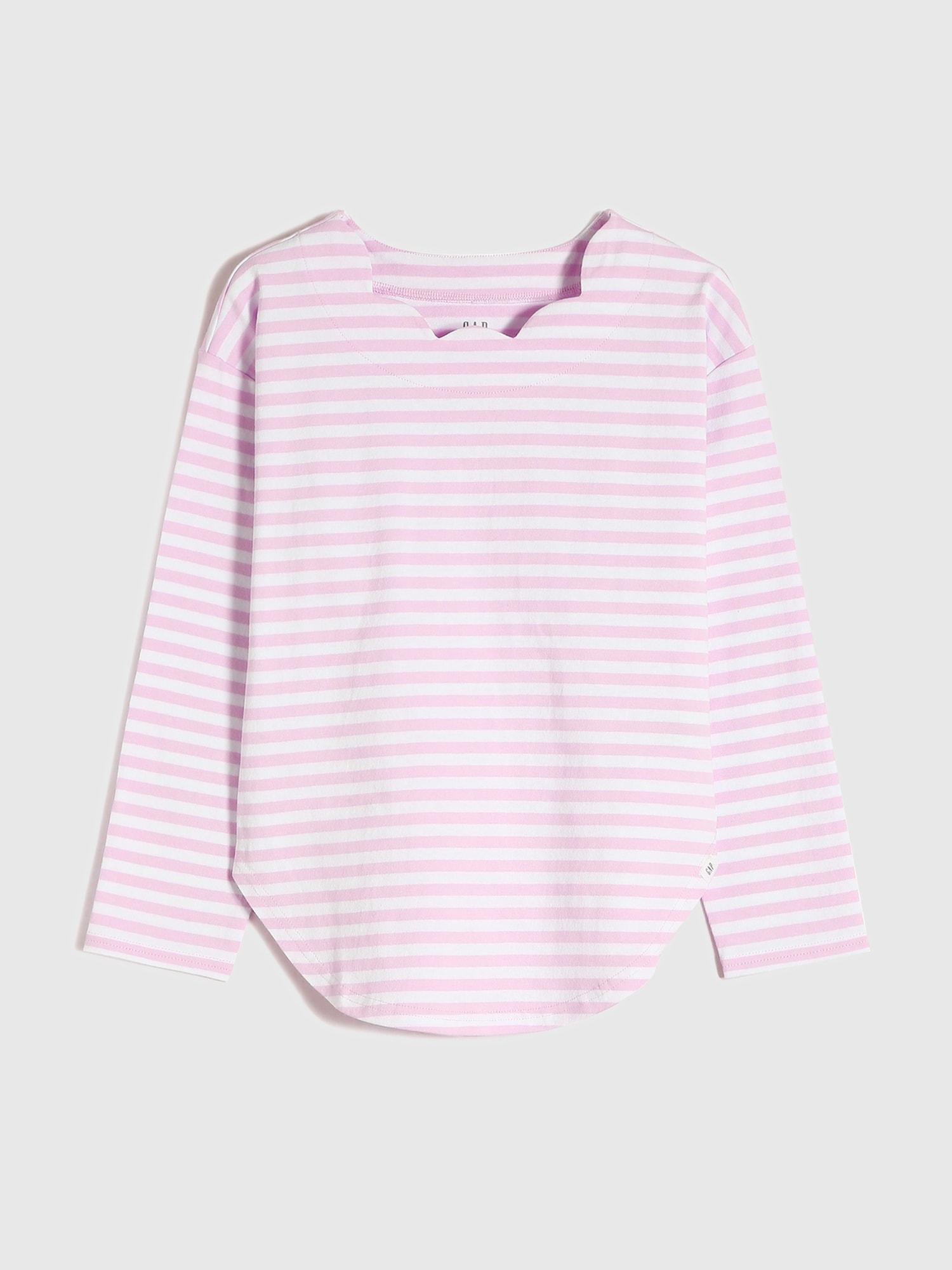 ストライプ長袖tシャツ
