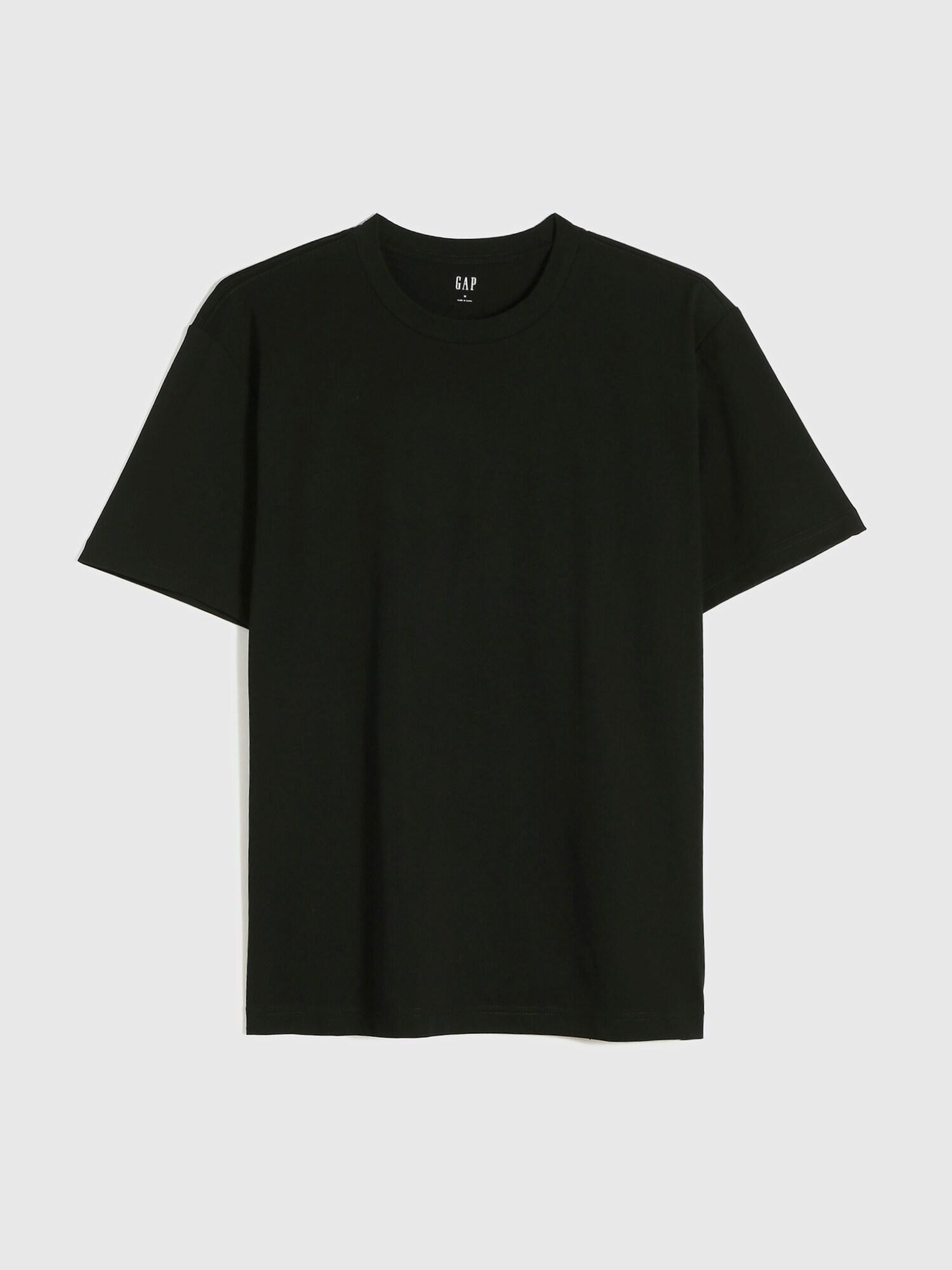 モダン クルーネックtシャツ