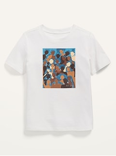Oldnavy Unisex Project WE Black History Month Tee by Reyna Noriega for Toddler