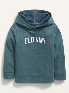 Oldnavy Logo-Graphic Pullover Hoodie for Toddler Boys