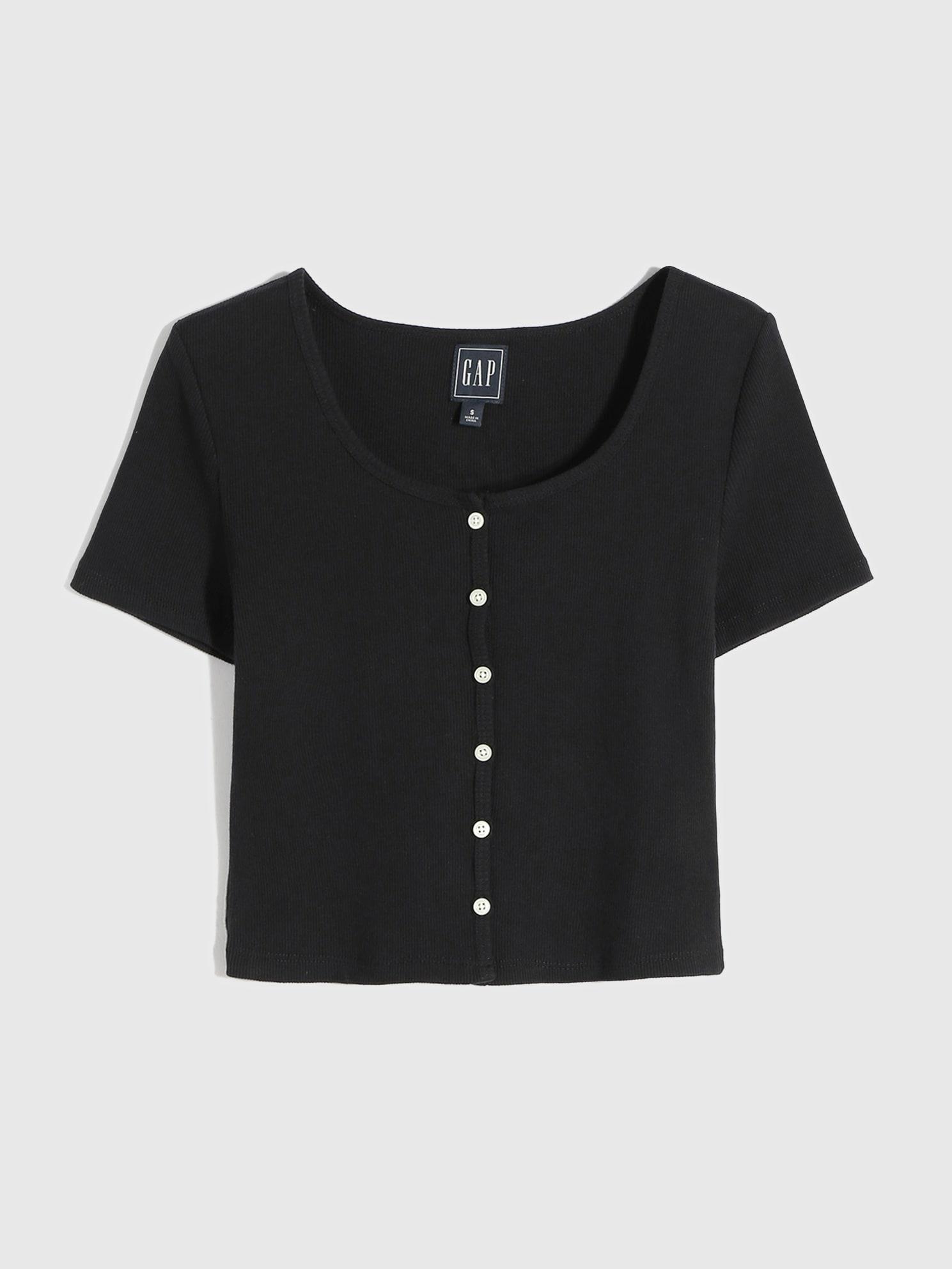 モダン Uネックtシャツ
