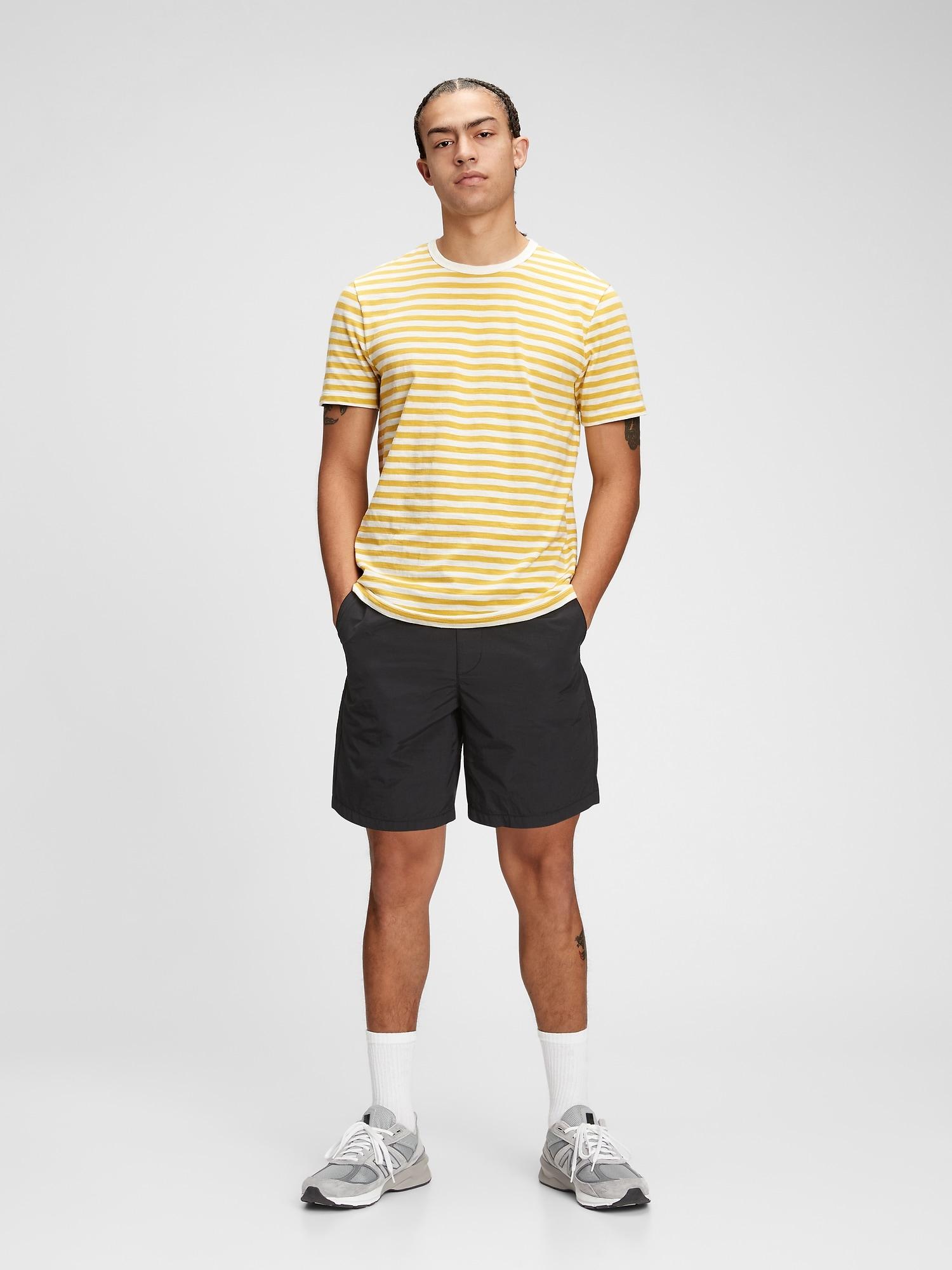 ソフトスラブ クルーネックtシャツ