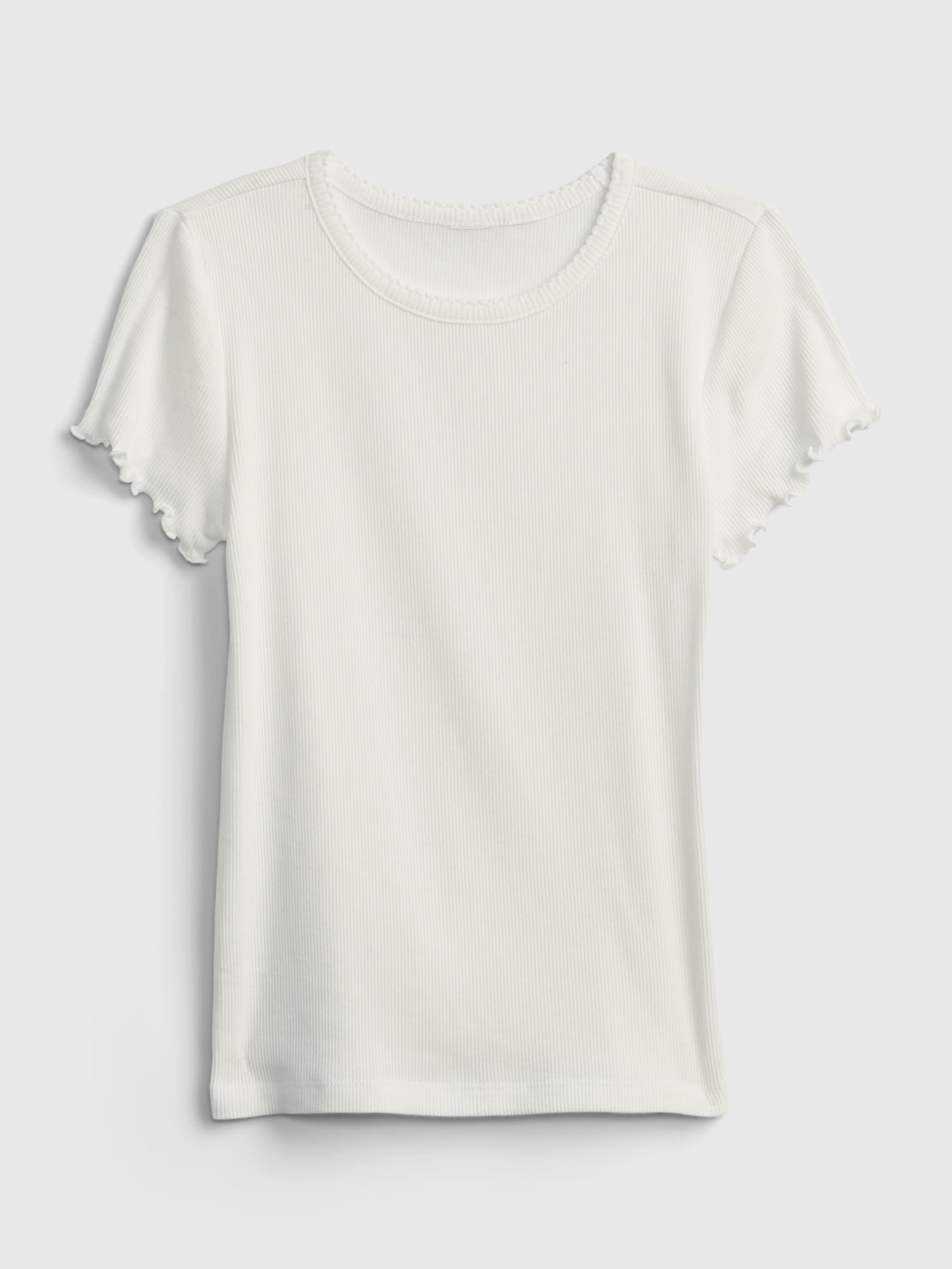 リブtシャツ (キッズ)