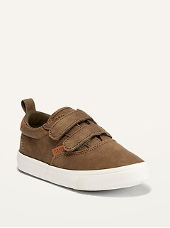 Oldnavy Unisex Faux-Suede Double-Strap Sneakers for Toddler