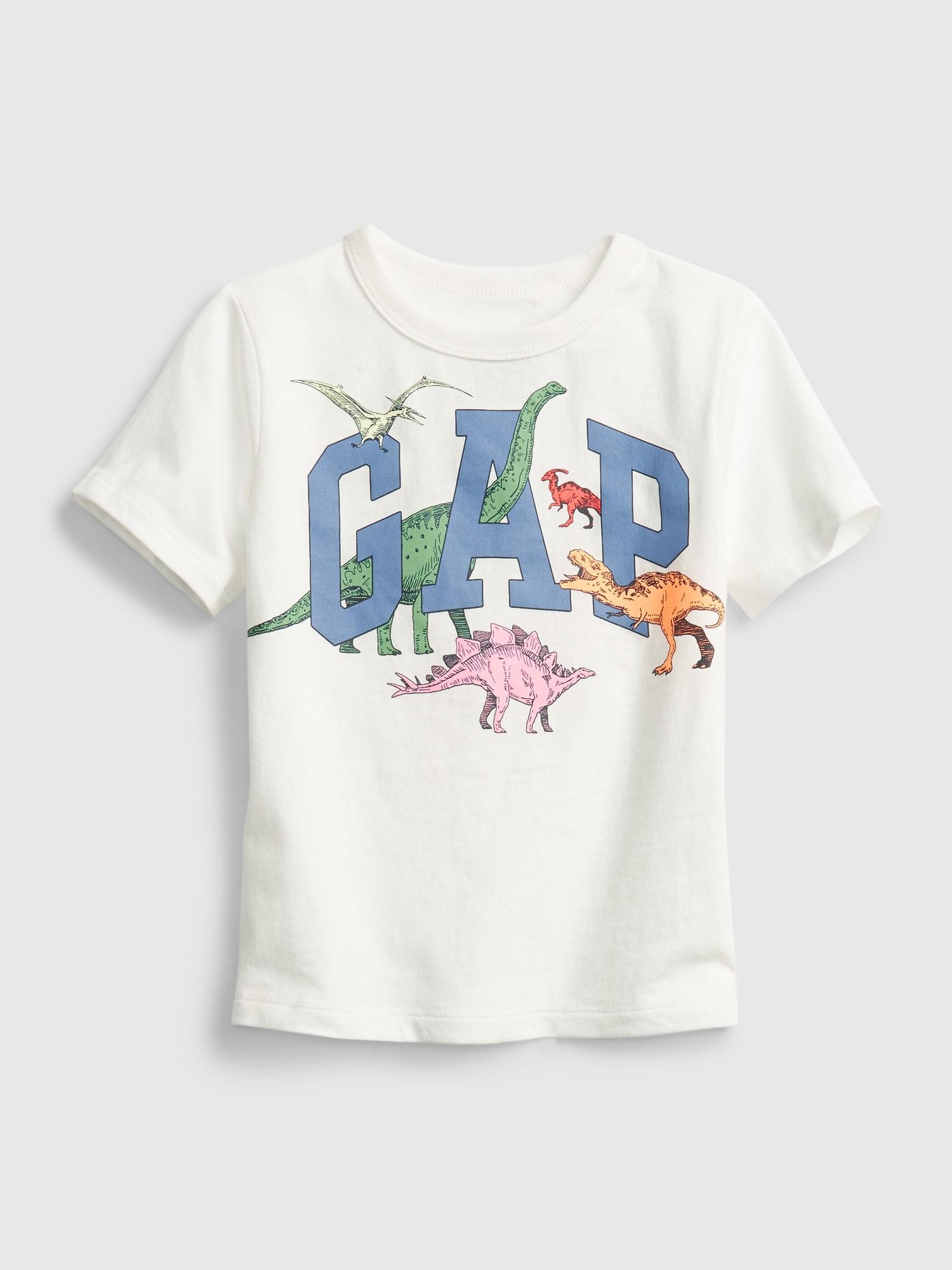 オーガニック ミックス&マッチ Gapロゴtシャツ (幼児)