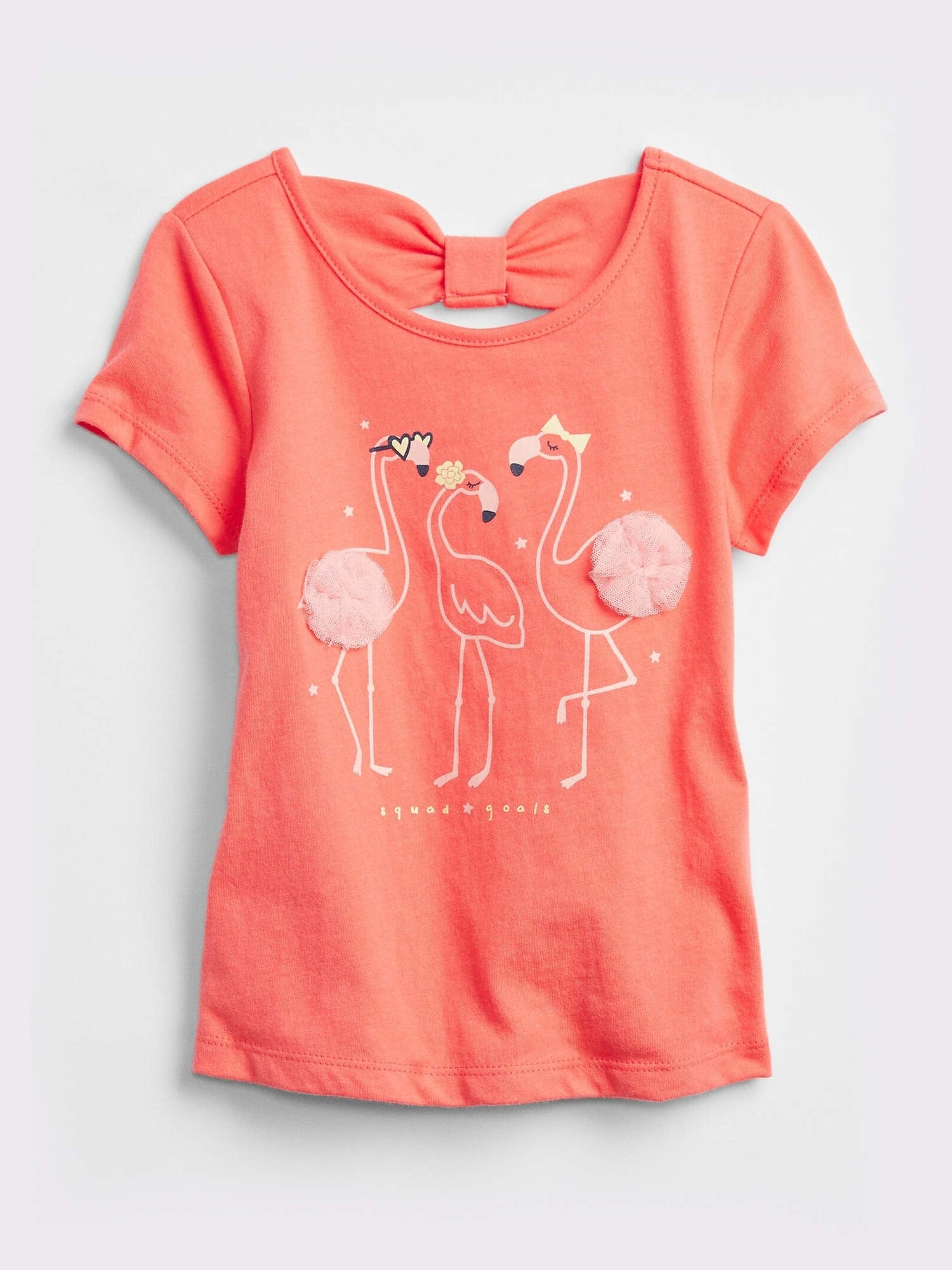 グラフィック リボン Tシャツ (幼児)