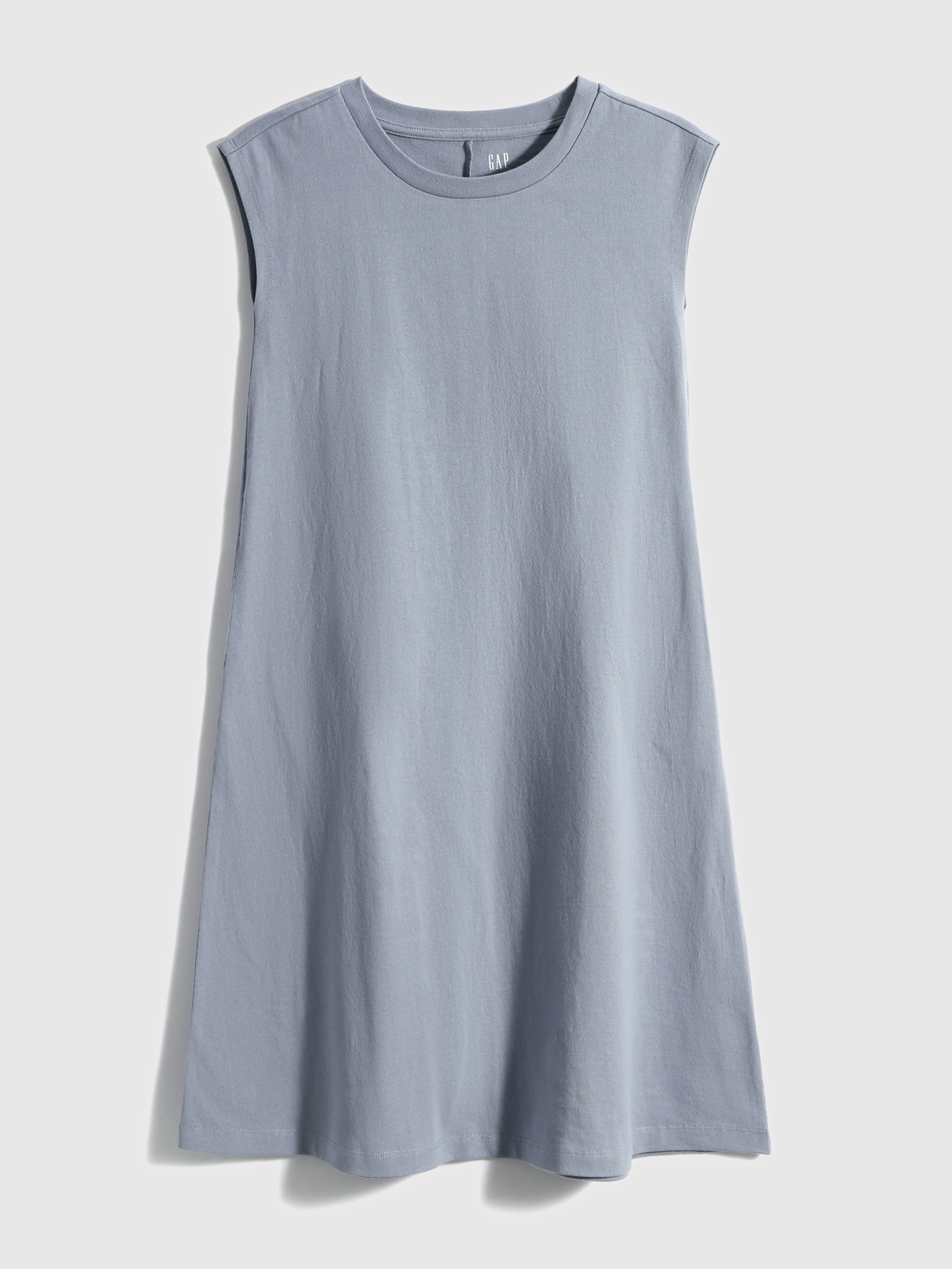 コットン スリーブレス ドレス