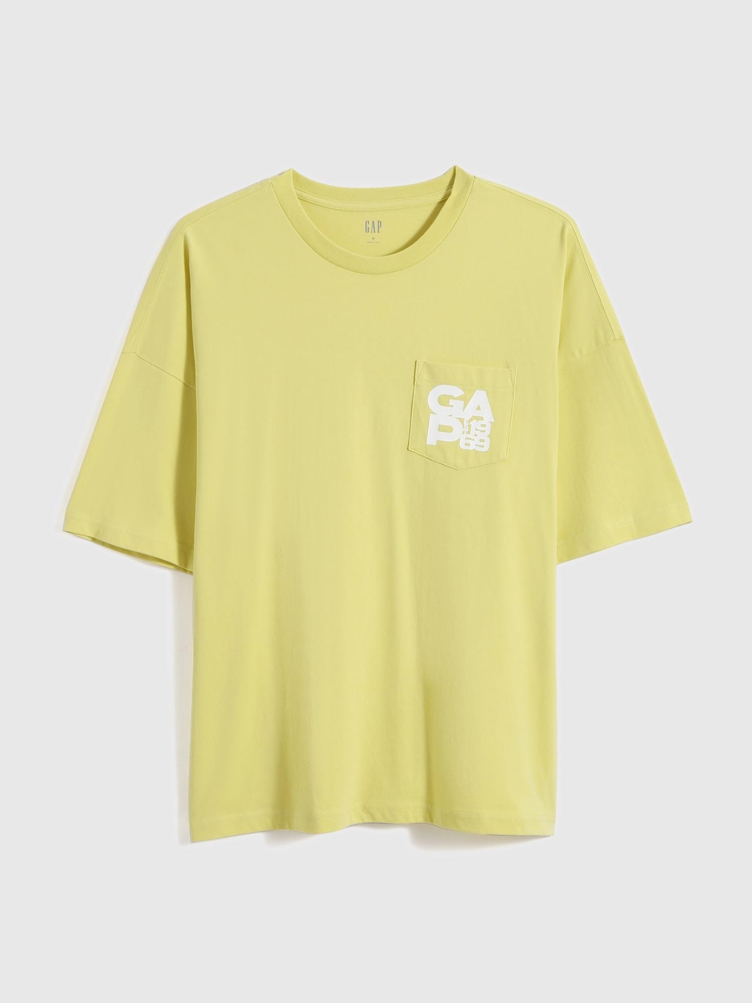 ルーズフィット コットン ロゴtシャツ