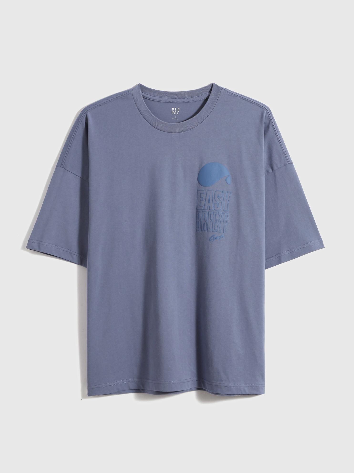 ルーズフィット ロゴ 半袖tシャツ
