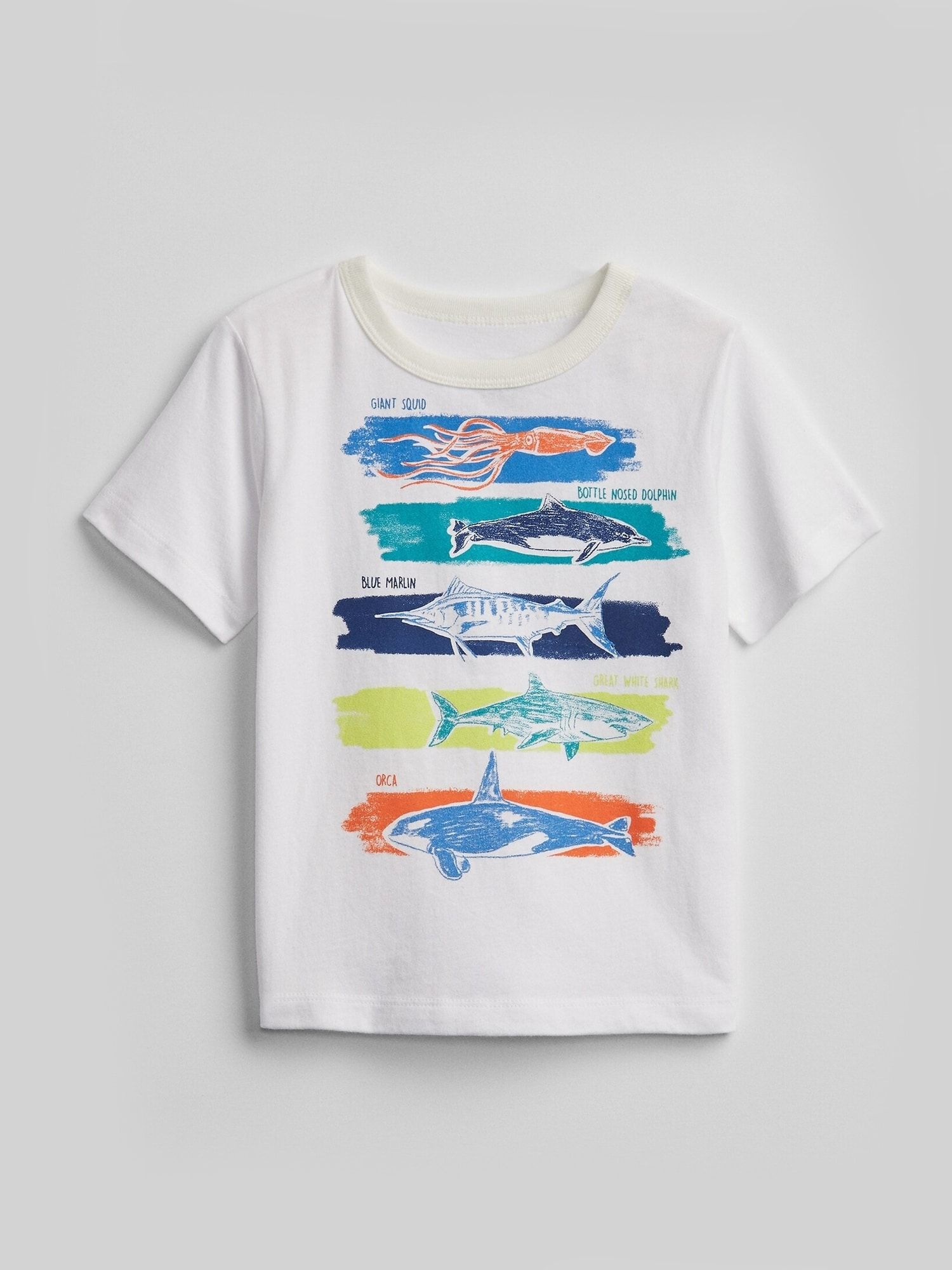 ミックス&マッチ グラフィック ロゴtシャツ (幼児)