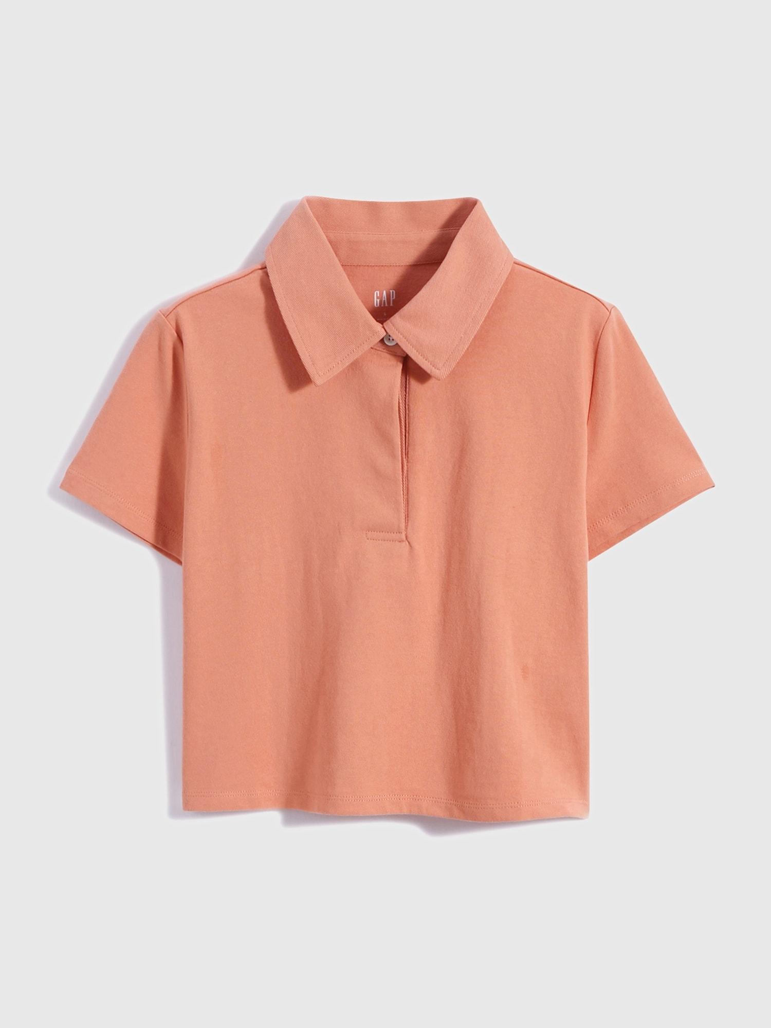 ピュアコットン ショート ポロシャツ