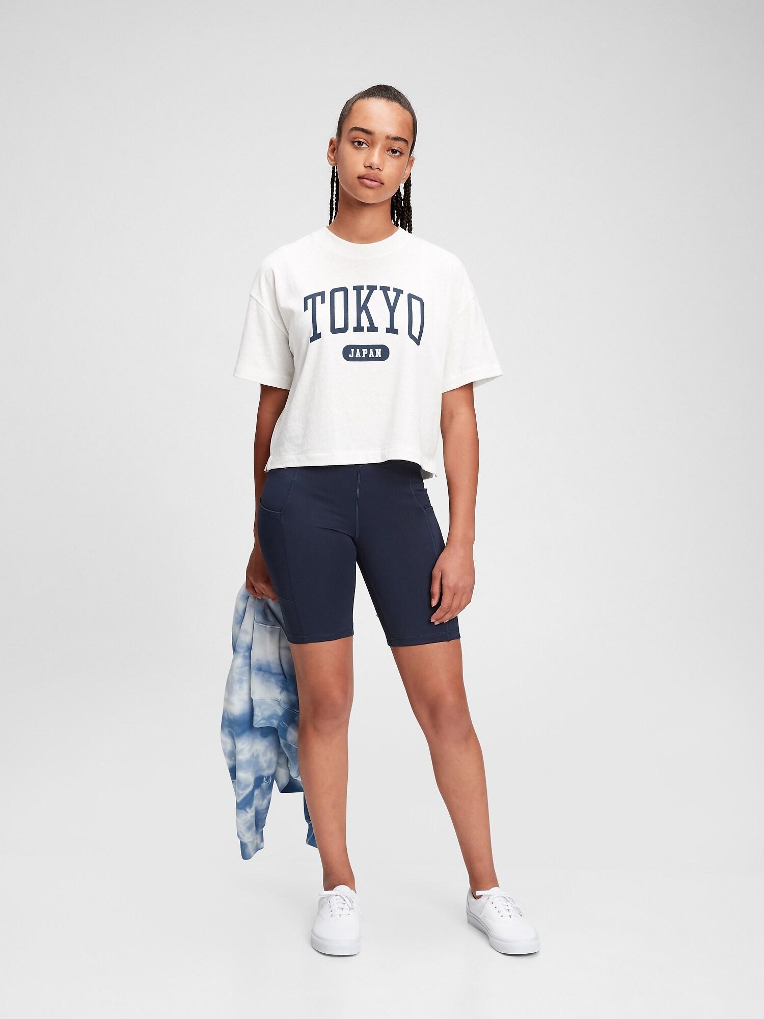Tokyo Gapロゴtシャツ (ギャップティーン)