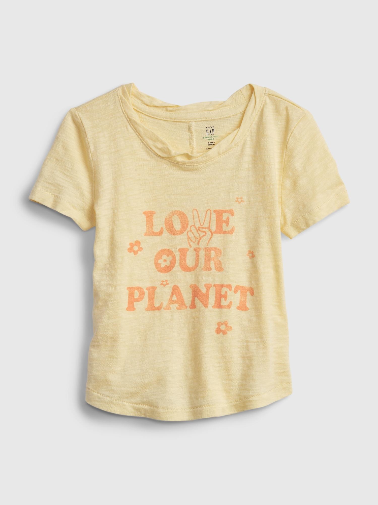 ジェネレーション・グッド グラフィック Tシャツ (幼児)