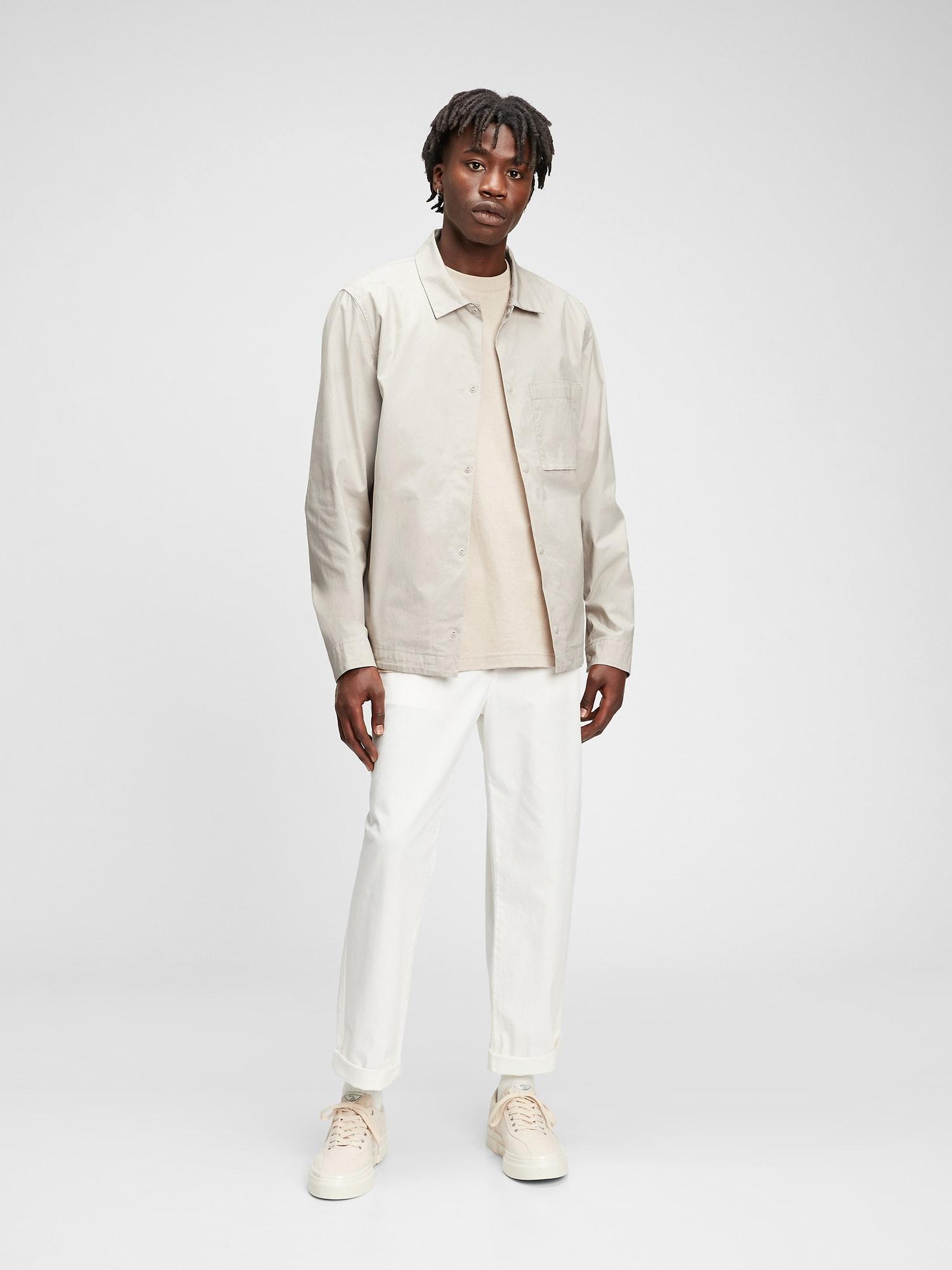 キャンバス シャツジャケット