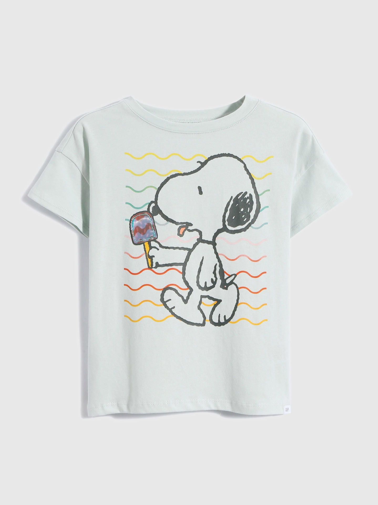 スヌーピーグラフィックtシャツ (ガールズ)