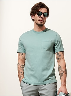 Authentic SUPIMA Men's Crew-Neck T-Shirt
