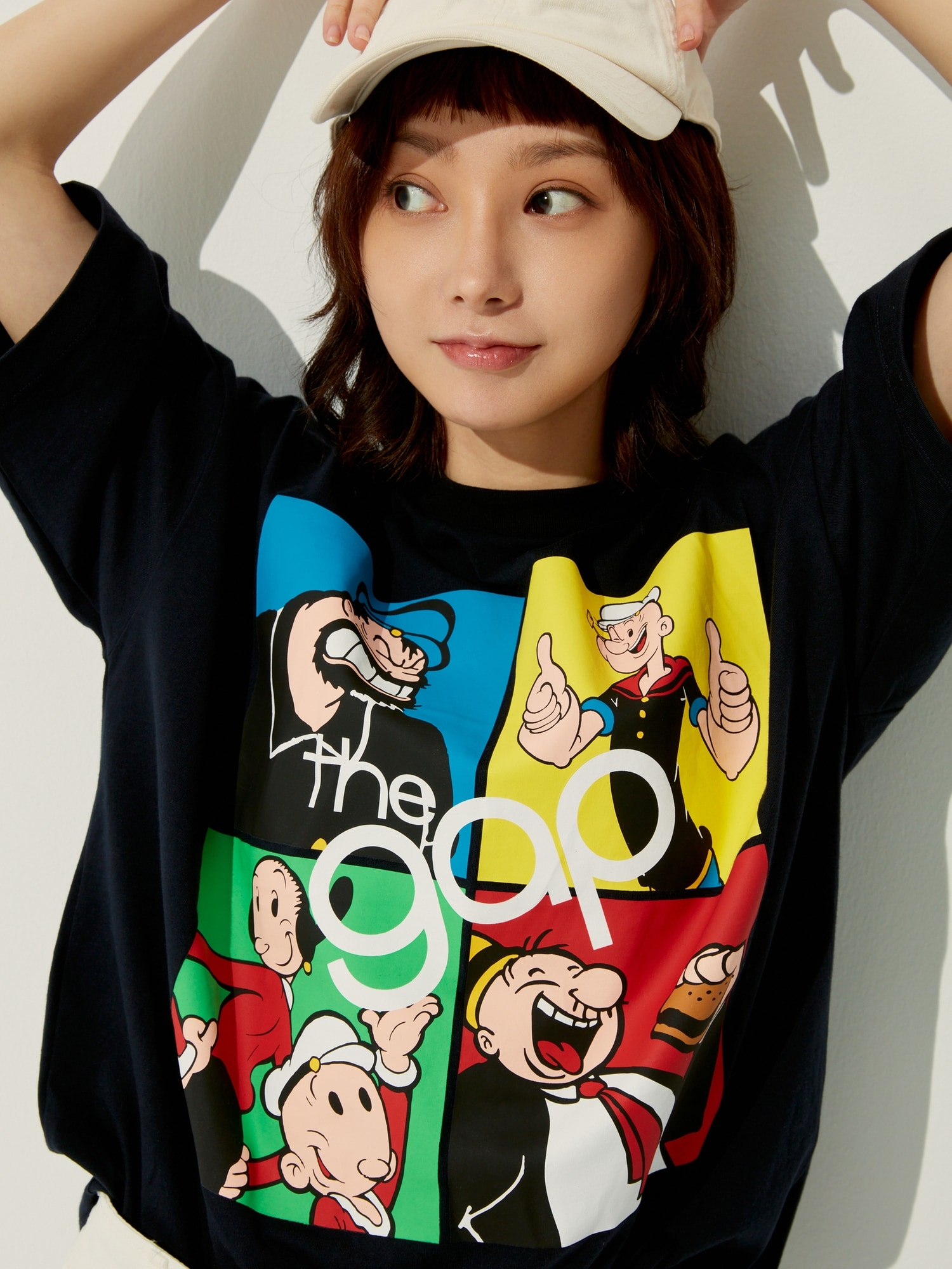ポパイ™ グラフィック Tシャツ (メンズ・ユニセックス)