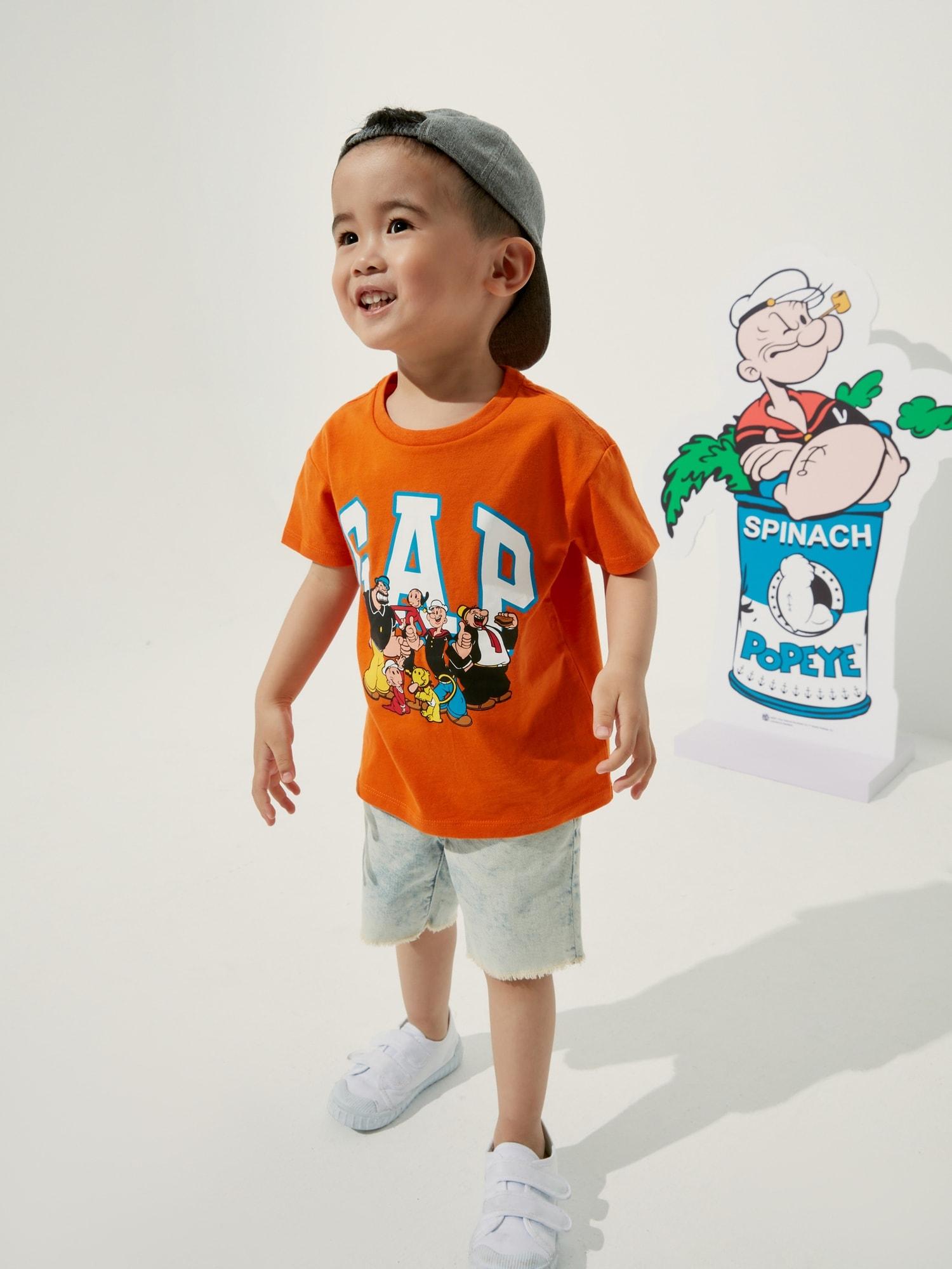 ポパイ™  グラフィックtシャツ (幼児)