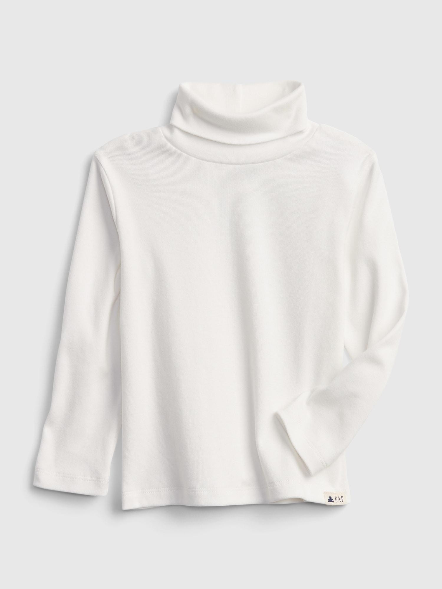 オーガニックコットン100% ブラナン プレイタイムフェイバリット タートルネック Tシャツ (幼児)