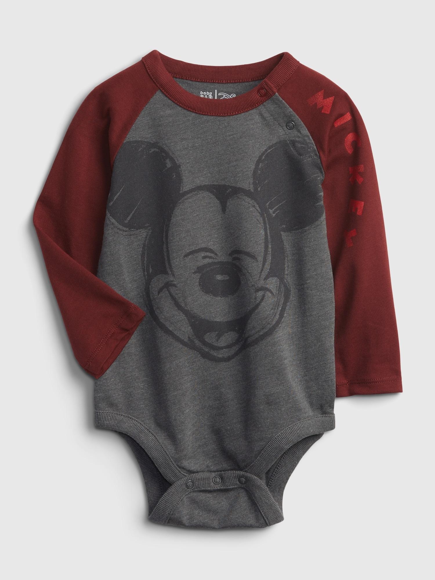 Babygap ディズニー ミッキーマウス ボディシャツ