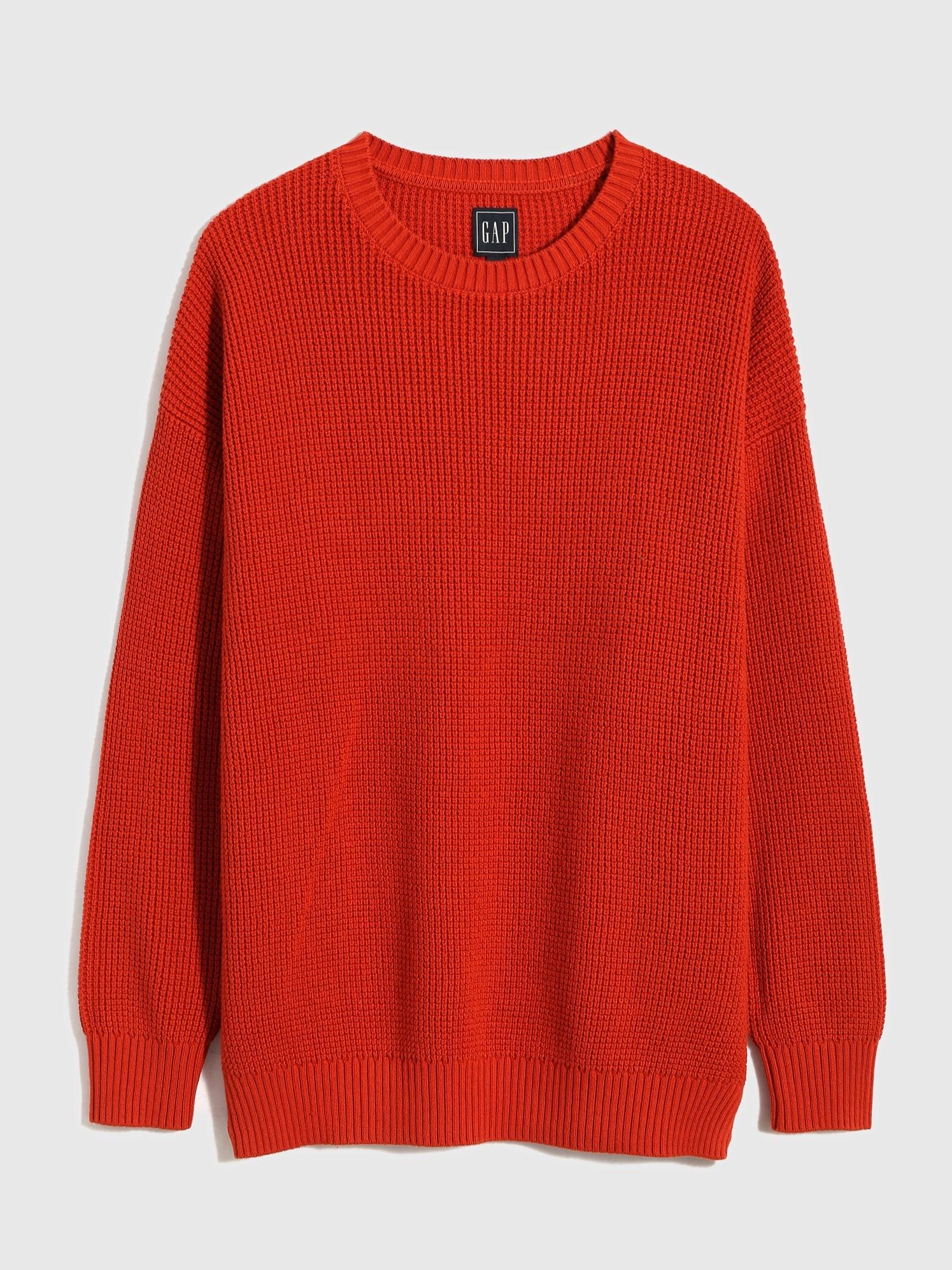 オーバーサイズ シェイカー セーター (ユニセックス)
