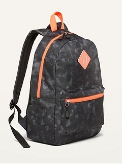Oldnavy Patterned Canvas Backpack for Kids