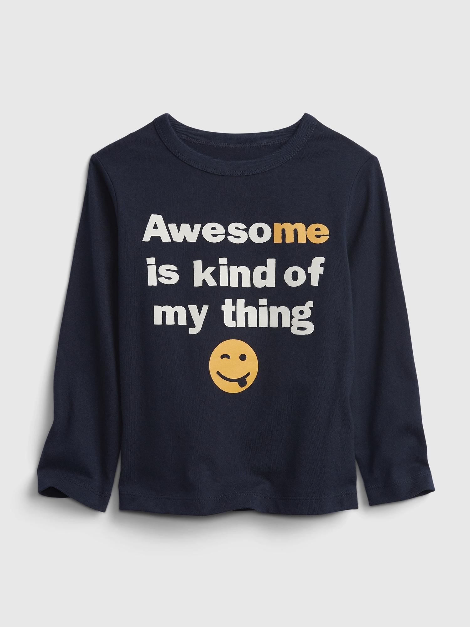 オーガニックコットン100% ブラナン プレイタイムフェイバリット グラフィックtシャツ (幼児)