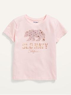Oldnavy Short-Sleeve Logo-GraphicT-Shirt for Girls