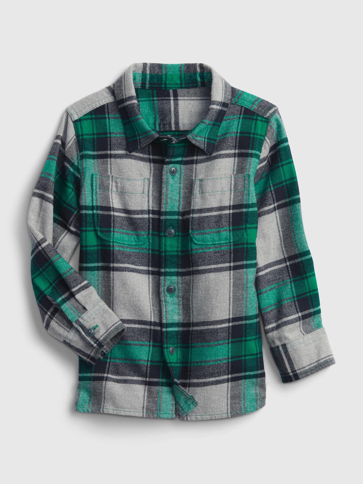 フランネルシャツ (幼児)