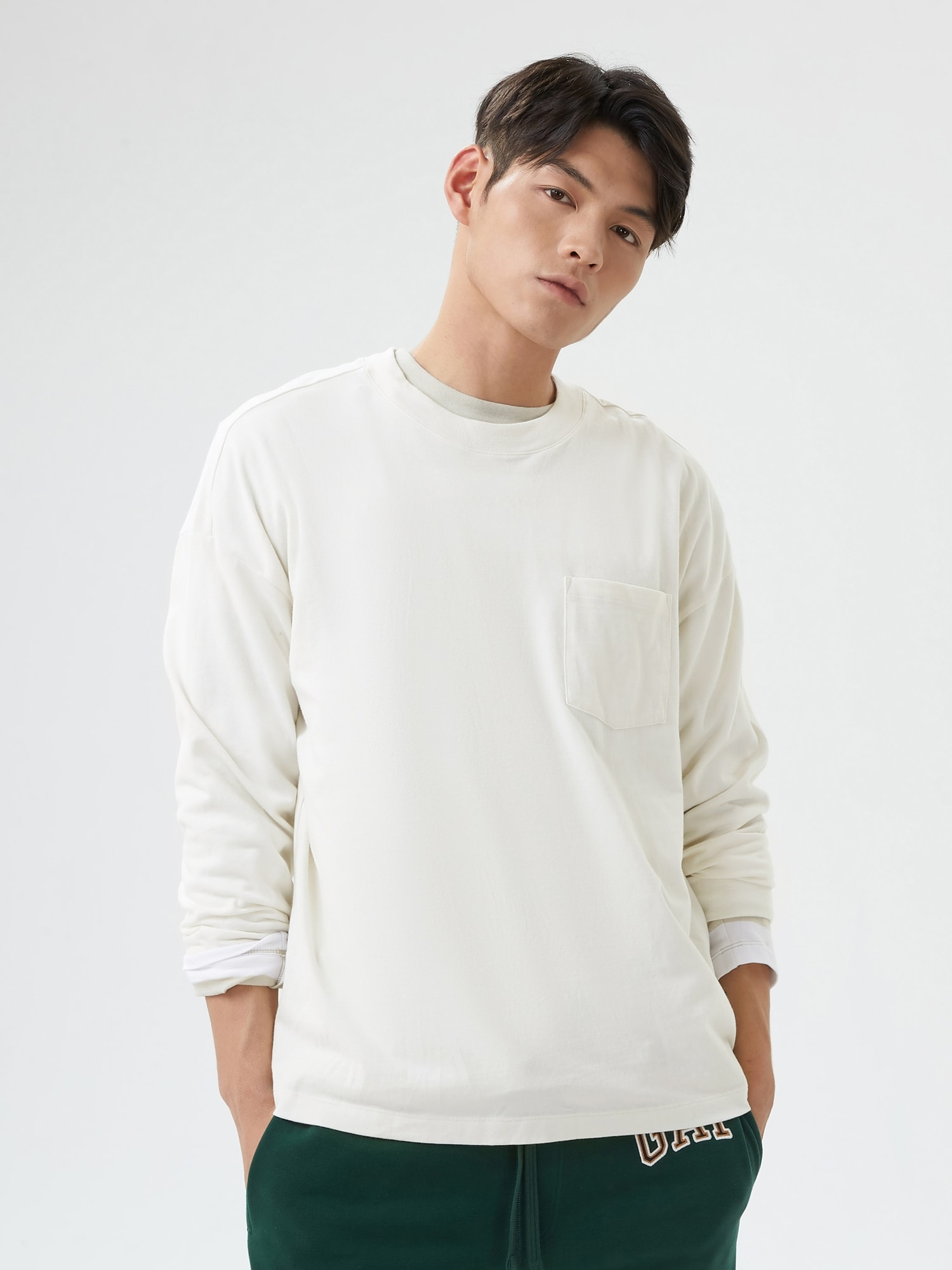 カーボナイズド ジャージー オーバーサイズtシャツ (メンズ・ユニセックス)