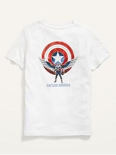 Oldnavy Licensed Gender-Neutral Superhero Graphic T-Shirt for Kids