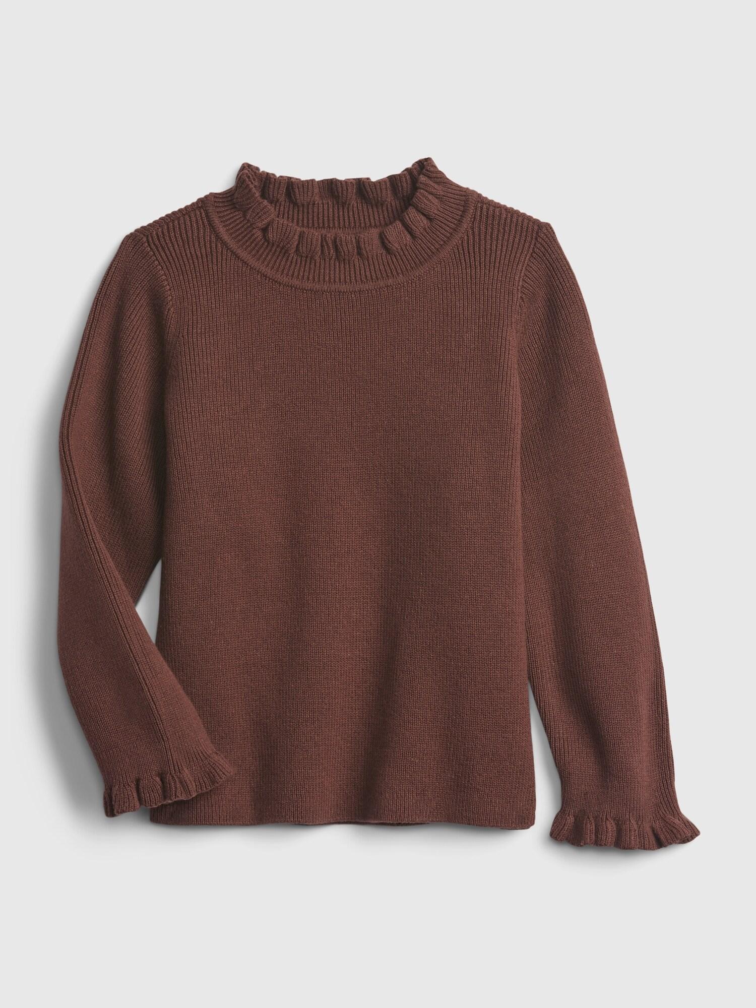 ラッフル タートルネックセーター (幼児)